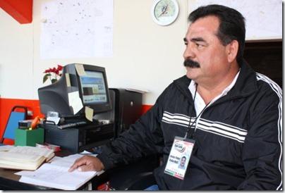 Jesús Fidel Ávila Ruiz, director Protección Civil Mpal