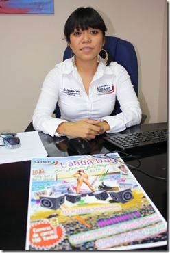Paulina Capiz, titular de Promoción Turística Municipal