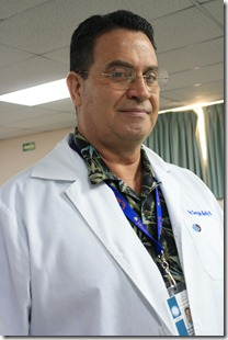 Sergio Kelly Barraza, director del Hospital General de la SS