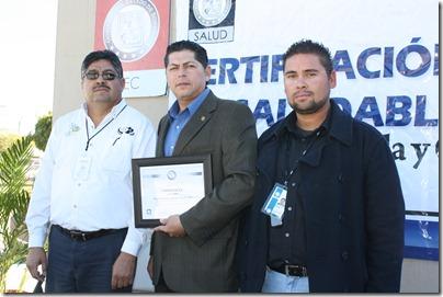 Entregan certificado de Escuela Saludable a Conalep (3)